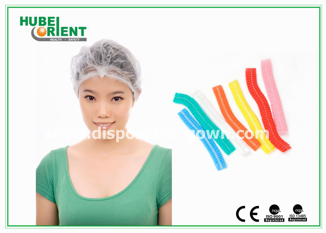 Nonwoven Clip Cap Disposable Head Cap for healthcare or food industry
